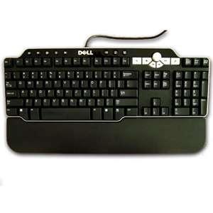 Dell USB Enhanced Multimedia Keyboard Like New N6250