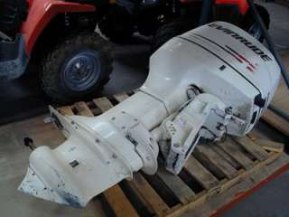 power up your boat with this evinrude outboard motor