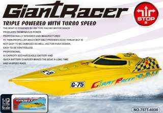 45 Inch Giant Racer RTR Electric RC Racing Speed Boat