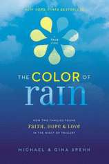 The Color of Rain by Michael Spehn; Gina Spehn (Hardcover