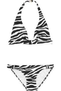 Michael Kors  Zebra print bikini  NET A PORTER
