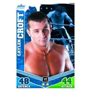 Caylen CROFT Smackdown Slam Attax MAYHEM Trading Card: .co.uk