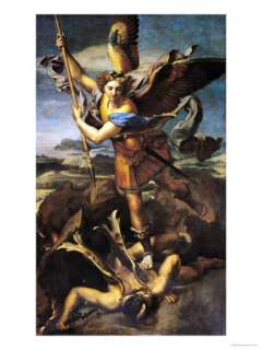 St. Michael Overwhelming the Demon, 1518 Giclee Print at Art