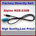 5MM Aux Input Cable Alpine KCE 236B for iPod iphone  PSP Smart