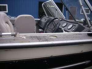 boat w/ 90 hp mercury outboard 1990 Sylvan Aluminum hull Fishing boat