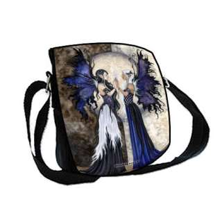 Two Sisters Fairies Amy Brown Faery Shoulder Bag/ Purse