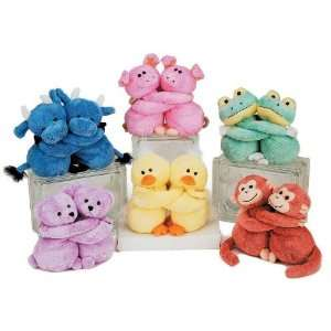 5.5 6 Assorted Plush Animal Couples Case Pack 24