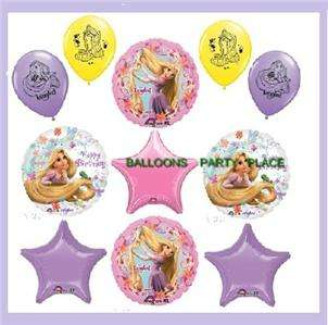 DISNEY RAPUNZEL TANGLED birthday party balloons