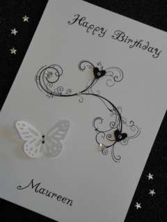 Handmade Personalised Birthday Card 13th 16th 50th 60th