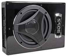 Boss BASS900 8 Low Profile Powered Subwoofer Under Seat Car/Truck Sub