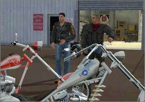 American Chopper PC CD motorcycle race simulation game
