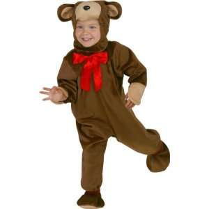 Kids Teddy Bear Costume (Size Medium) Toys & Games