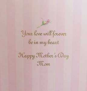 Carol Wilson MOTHERS DAY Greeting Card Embossed SWEET 095372614474