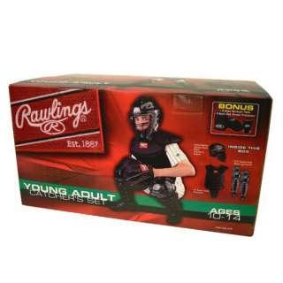 CATCHERS GEAR SET~Rawlings Youth Baseball Ages 10 14~Helmet Shin