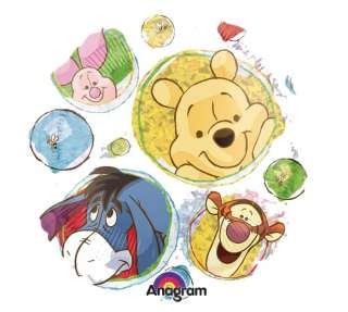 18 Winnie the Pooh & Friends Clear Balloon Birthday Party Baby Shower