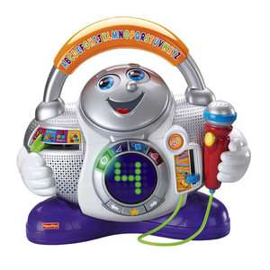 Fisher Price Fun 2 Learn Learning DJ Pretend Play, Arts & Crafts
