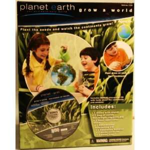 Planet Earth Grow A World Chia Pet Seed Planter: Kitchen & Dining