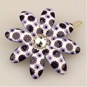 Picabia Collection (Hand set Swarovski Crystals, Hair Pin) Beauty