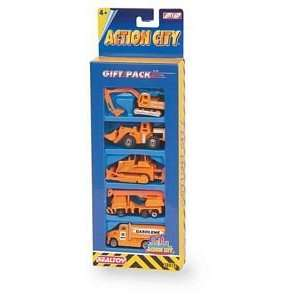 Action City 5 Piece Construction Set: Toys & Games