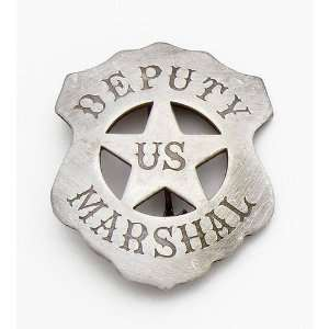 Old West U.S. Deputy Marshal Badge Replica: Sports