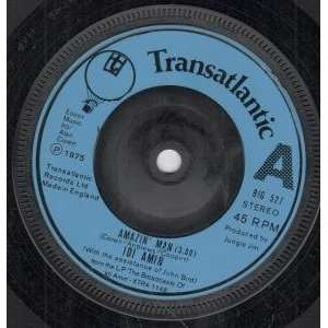 MAN 7 INCH (7 VINYL 45) UK TRANSATLANTIC 1975 IDI AMIN Music