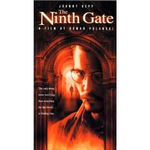 The Ninth Gate [VHS]: Johnny Depp, Frank Langella, Lena Olin
