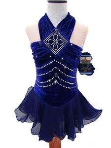 Figure Ice Skating Dance Baton Costume Dress Child M