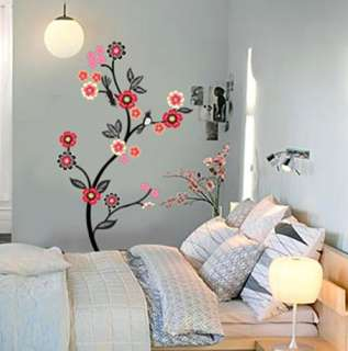 Flowering Tree Adhesive WALL STICKER Removable Decal