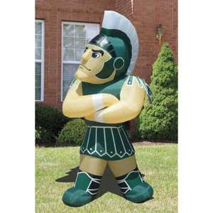 State Spartans Sparty Inflatable Lawn Figurine