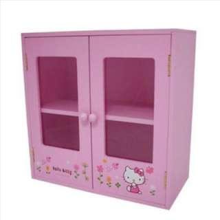 Hello Kitty Drawer Chest Stack Storage Pink Sanrio