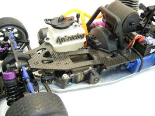 HPI Nitro RS4 RTR 3 Evo + carbon fiber upgrades gas radio control rc