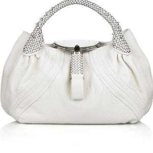 Fendi white leather Spy bag Everything Else