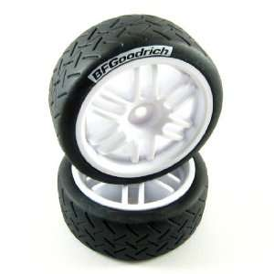 7372 1/16 Rally BF Goodrich Tires on Rally Wheels: Toys & Games
