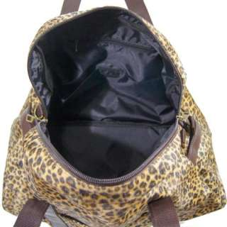 New Sexy Leopard Print Overnight Large Tote Bag Handbag #B03