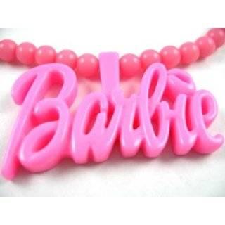 NEW NICKI MINAJ BARBIE Pink Pendant w/ 18 Ball Chain Small by