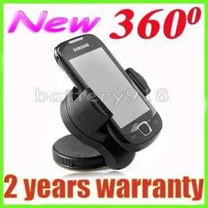 UNIVERSAL 360°Mobile phone Windshield car holder FOR HTC Raider 4G