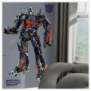 Transformers Optimus Prime Giant Peel and Stick Wall Decal Decor