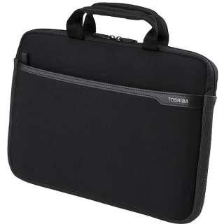 Toshiba 14 Neoprene Laptop Case, Black Computers