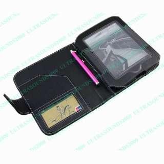 Wallet Case for  TOUCH NOOK 2 6 eReader C71