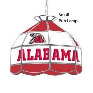 Alabama Crimson Tide Glass Shade Lamp Light