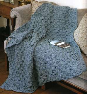 New Crochet Baby Afghan Patterns : Baby Blanket Crochet Handmade Afghan Lion Brand Homespun ...