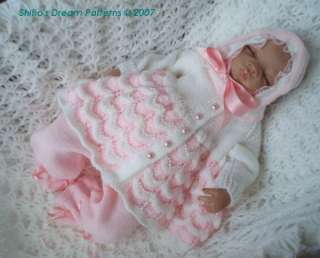Matinee Knitting Patterns – My Patterns – Free Pattern Cross