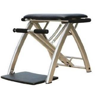 Malibu Pilates Chair with 3 Workout DVDs ~ Guthy Renker