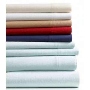 Martha Stewart Solid Flannel Full Sheet Set White