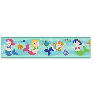 Mermaids Wall Border by Olive Kids