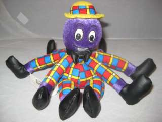 The Wiggles Henry The Octopus Plush Bean Toy Stuffed 7P18 Stuffed