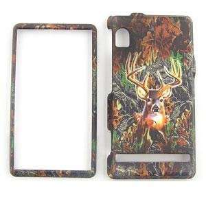 MOTOROLA DROID A855 Deer CAMO CAMOUFLAGE HUNTER HARD