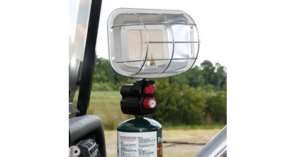 Golf Cart Propane Heater Piezo Ignited Portable