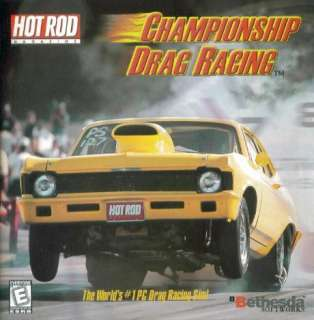 Drag Racing PC CD fine tune muscle car race simulation game
