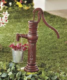 Water Pump Planter Light Outdoor Garden Decor Path Lighting
